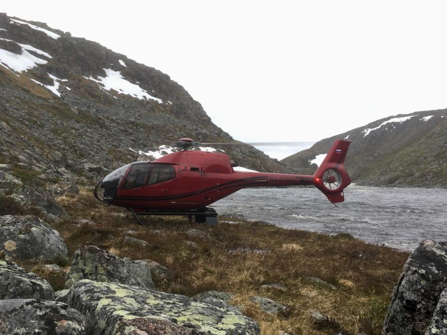 Харловка 2019 вертолет
